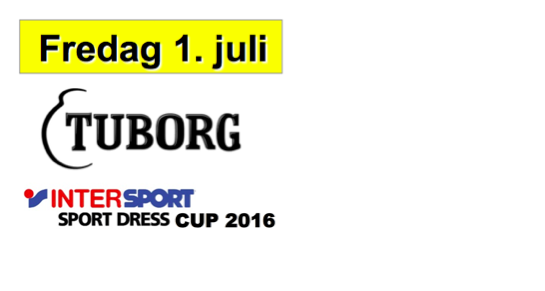 Program Tuborg Cup & Sport Dress Cup