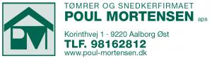 Tømrer- og snedkerfirmaet Poul Mortensen ApS