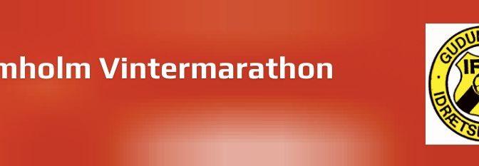 Gudumholm Vintermaraton 2020 – praktisk information